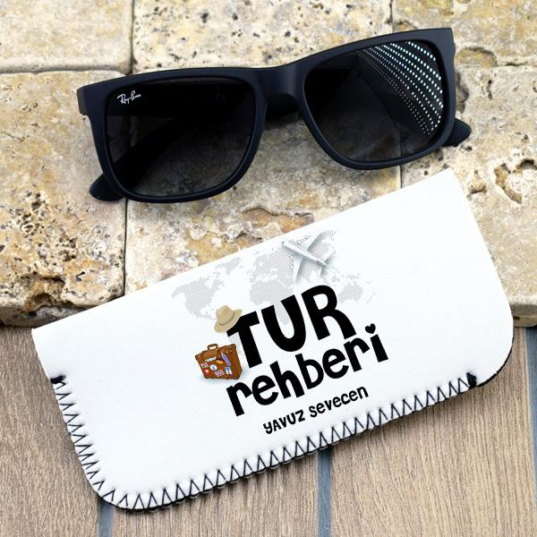 Tur Rehberlerine Özel Gözlük Kılıfı