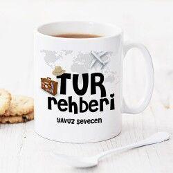 Tur Rehberlerine Özel Kupa Bardak - Thumbnail