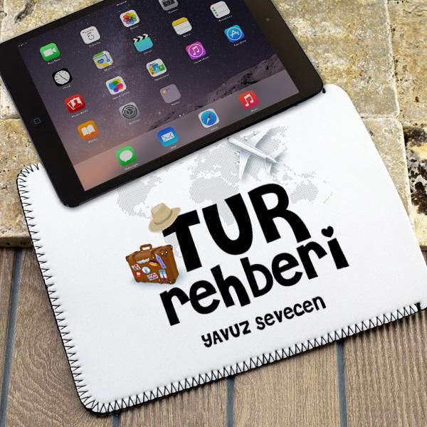 Tur Rehberlerine Özel Tablet Kılıfı