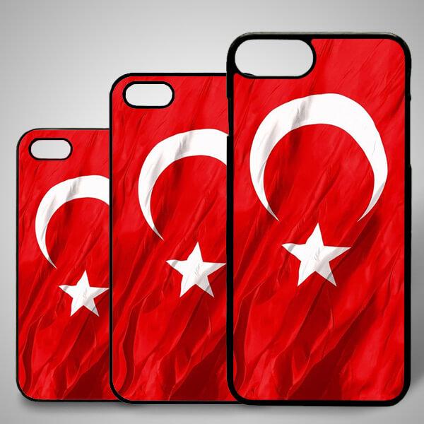 Türk Bayrağı iPhone Telefon Kılıfı