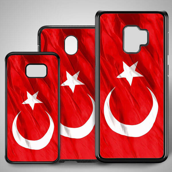 Türk Bayrağı Samsung Kapak