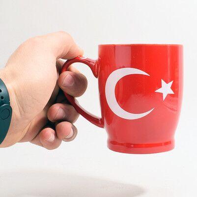 - Türk Bayrağı Temalı Kupa Bardak