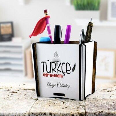 - Türkçe Öğretmenine Hediye Kalemlik