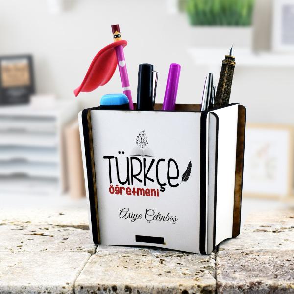 Türkçe Öğretmenine Hediye Kalemlik