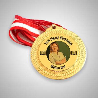 - Türkçe Öğretmenine Hediye Madalyon