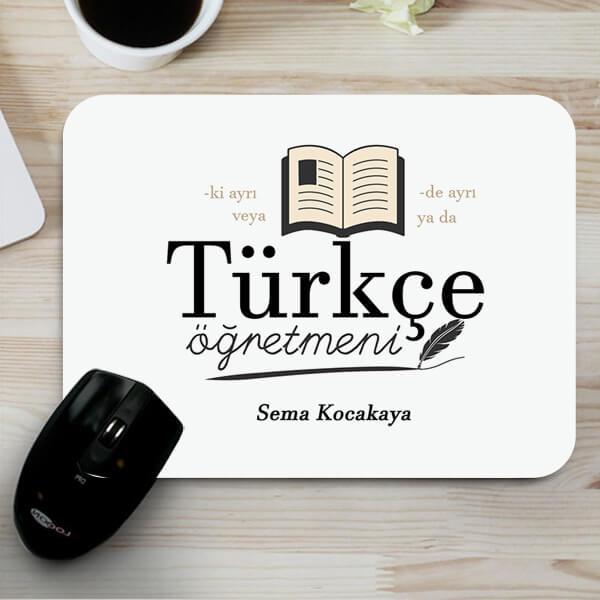 Türkçe Öğretmenine Hediye Mousepad