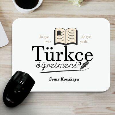 - Türkçe Öğretmenine Hediye Mousepad