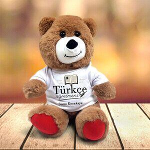 - Türkçe Öğretmenine Hediye Pelüş Ayıcık