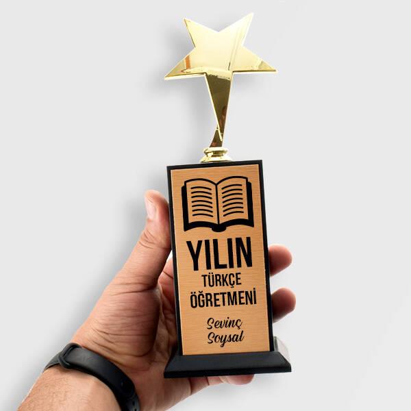Türkçe Öğretmenine Hediye Yıldızlı Ödül