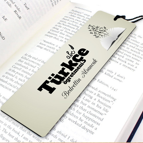 Türkçe Öğretmenine Özel Kitap Ayracı
