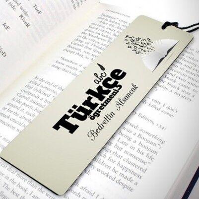 - Türkçe Öğretmenine Özel Kitap Ayracı