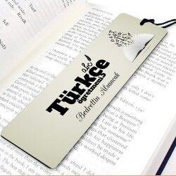 Türkçe Öğretmenine Özel Kitap Ayracı - Thumbnail