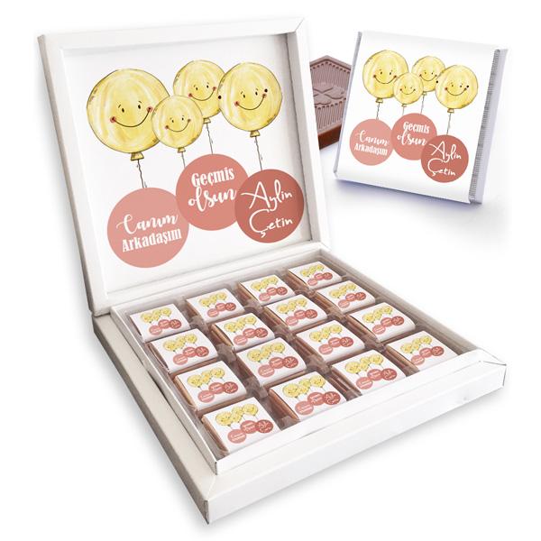 Uçan Smile Geçmiş Olsun Çikolataları