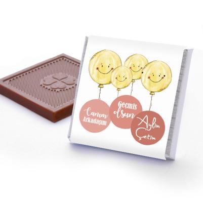 Uçan Smile Geçmiş Olsun Çikolataları - Thumbnail