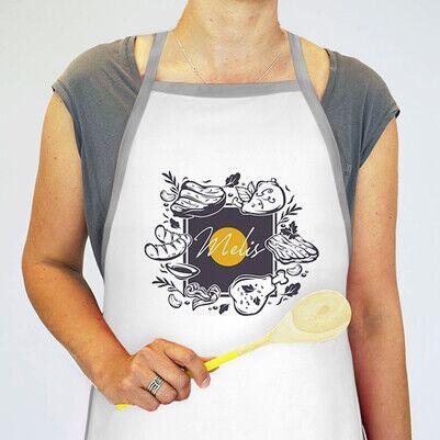 Usta Aşçı Tasarım Mutfak Önlüğü - Thumbnail