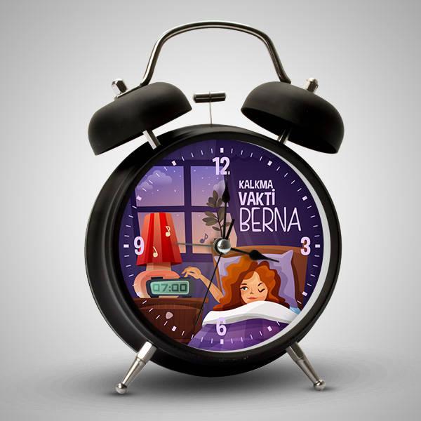 Uyanma Vakti İsme Özel Çalar Saat