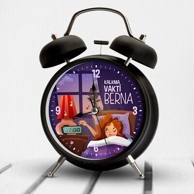 Uyanma Vakti İsme Özel Çalar Saat - Thumbnail