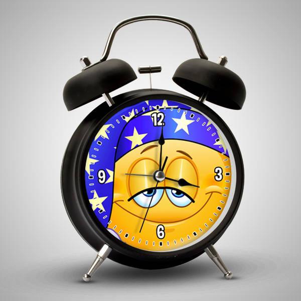 Uykucu Emoji Alarm Saat