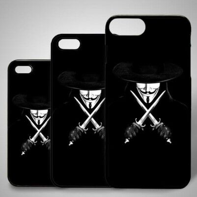 - V For Vandetta iPhone Kapak