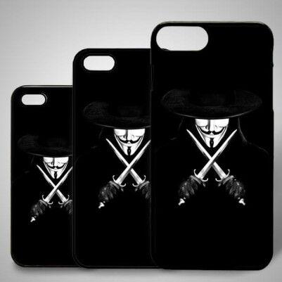 - V For Vandetta iPhone Kapak