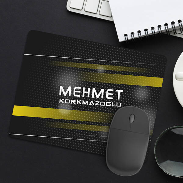 Vektörler İsimli Mousepad