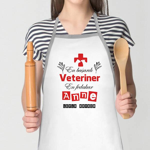 veteriner Annelere Özel Mutfak Önlüğü