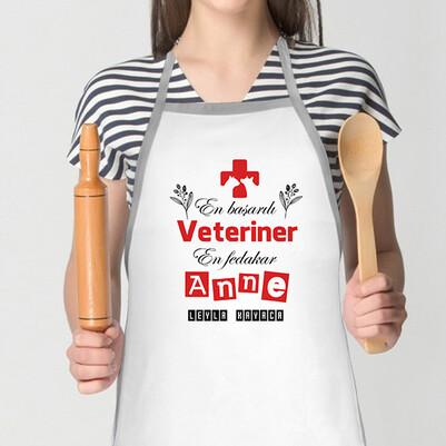 - veteriner Annelere Özel Mutfak Önlüğü