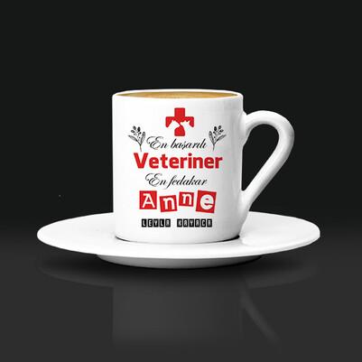 - Veteriner Anneye Hediye Kahve Fincanı