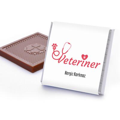 Veterinere Hediye Kutu Çikolata - Thumbnail