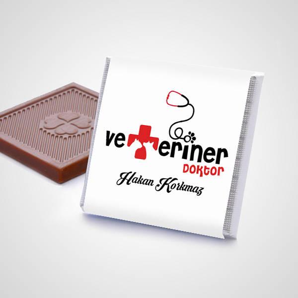 Veterinerlere Özel Çikolata Kutusu