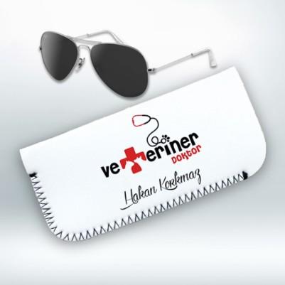 - Veterinerlere Özel Gözlük Kılıfı