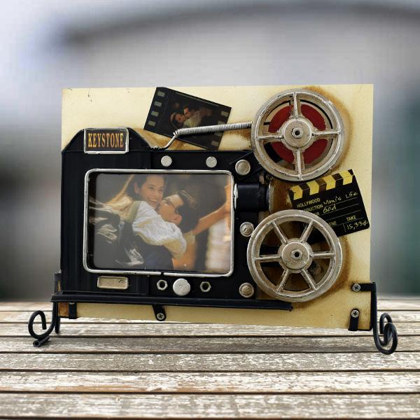 Vintage Film Rulosu fotoğraf Çerçevesi