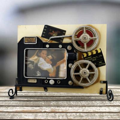 - Vintage Film Rulosu fotoğraf Çerçevesi