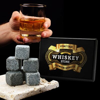 Viski Taşı 6'lı Set - Thumbnail