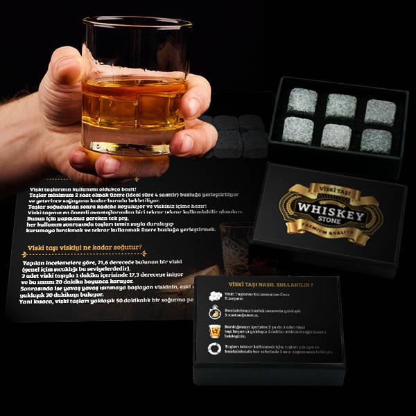 Viski Taşı 6'lı Set