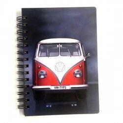 Vosvos Minibüs Temalı Defter - Thumbnail