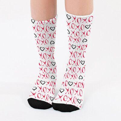 - Xoxo Tasarım Bayan Çorabı
