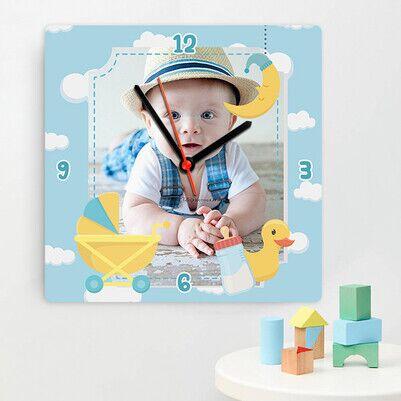 - Yakışıklı Prensim Bebek Duvar Saati