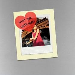 - Yapışkanlı Şeffaf Kalp Not Kağıtları