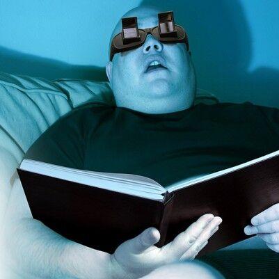 Yatarken Kitap Oku - Tembel Okuma Gözlüğü - Thumbnail