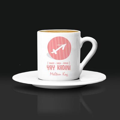 - Yay Burcu Kadınına Hediye Kahve Fincanı