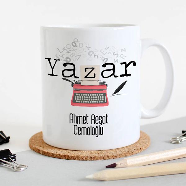 Yazarlara Hediye Kupa Bardak