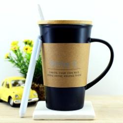 Yazılabilir Porselen Kahve Kupası - Thumbnail