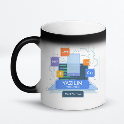 Yazılım Mühendisine Hediye Kupa Bardak - Thumbnail