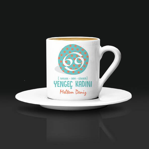 Yengec Burcu Kadınına Hediye Kahve Fincanı