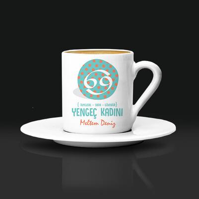 - Yengec Burcu Kadınına Hediye Kahve Fincanı