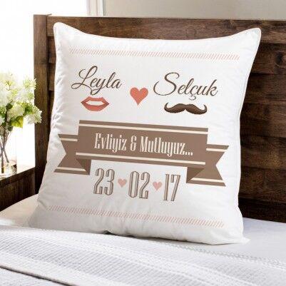 - Yeni Evli Çiftlere Özel Hediyelik Yastık
