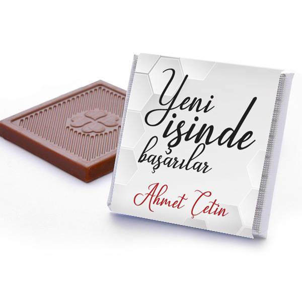 Yeni İşinde Başarılar Çikolatası