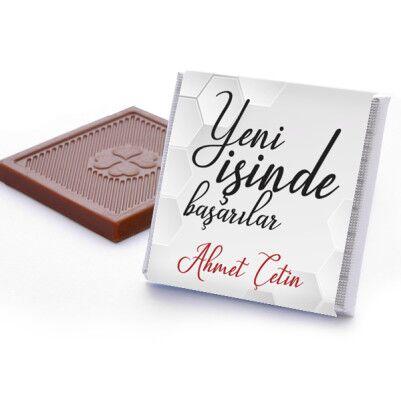 Yeni İşinde Başarılar Çikolatası - Thumbnail