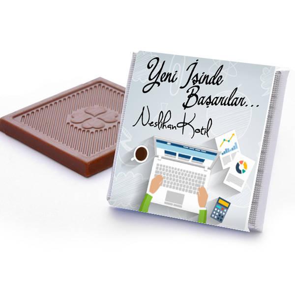 Yeni İşinde Başarılar Dilerim Çikolata Kutusu
